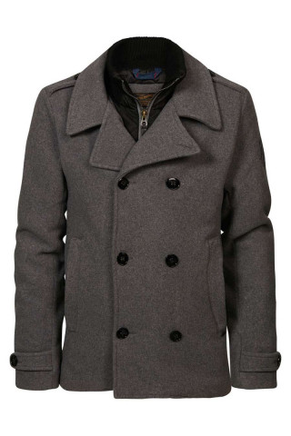 Jacket peacoat