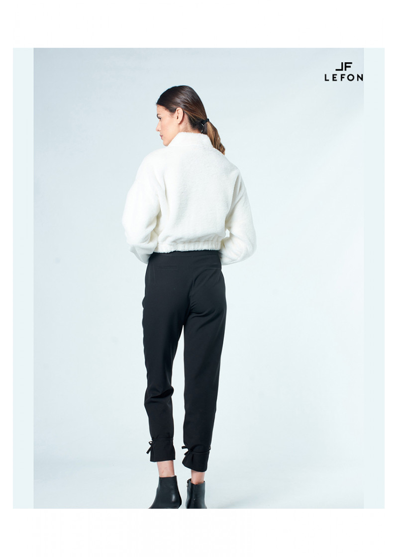 030197 BELTED PANTS