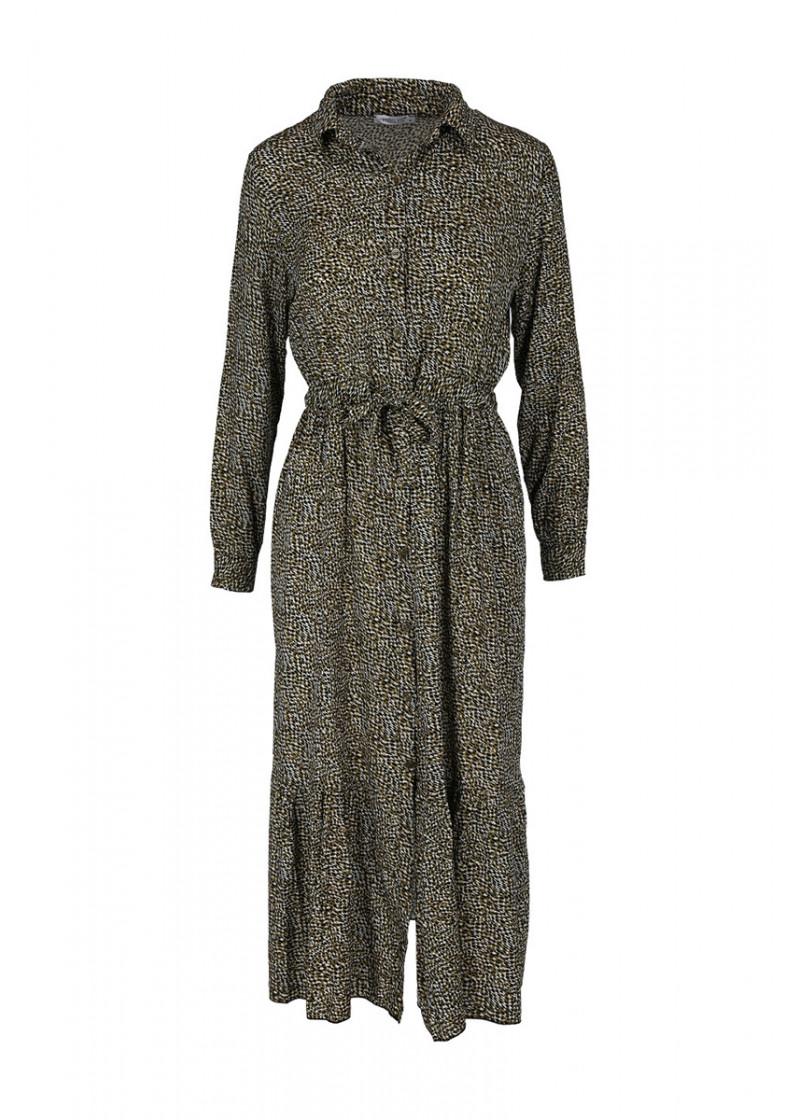 MX V DR Lea dress long